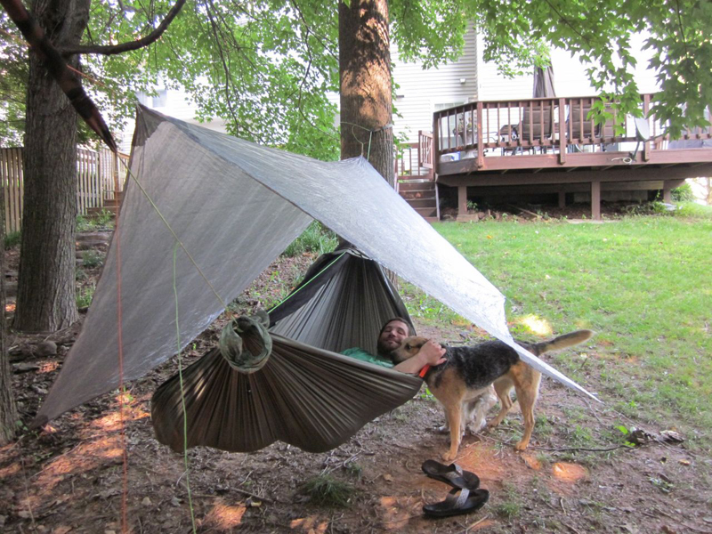 Medium image of hammockgear cuben fiber hex tarp
