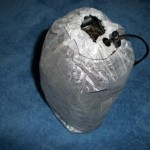 Very Small Cuben Fiber Stuff Sack