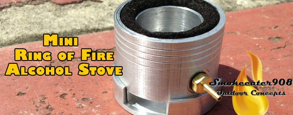 Mini Ring of Fire Alcohol Stove