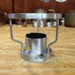 Ring of Fire alcohol stove with integrated pot stand