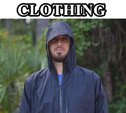camping hiking backpacking clothing rain gear