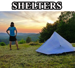 camping shelters tents tarps cuben fiber
