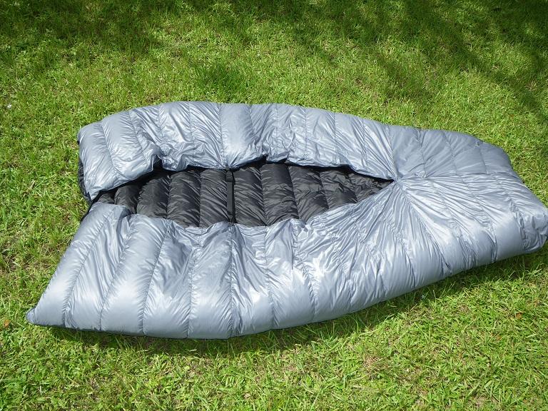twin size Ultralight down quilt sleeping bag - OutdoorTrailGear ... : quilt backpacking - Adamdwight.com