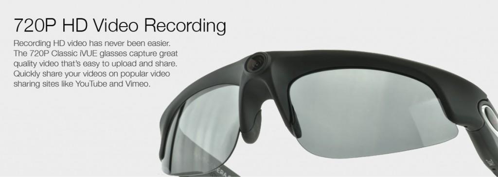 iVue Camera Glasses