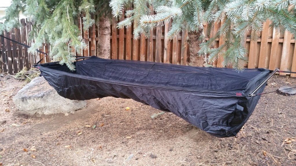 Outside view of Jacks R Better Bear Mountain Bridge Deluxe Hammock